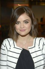 LUCY HALE at Good Day New York in New York
