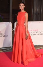 LUCY MECKLENBURGH at BAFTA 2015 Awards in London