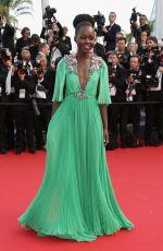 LUPITA NYONGO at La Tete Haute Premiere at 2015 Cannes Film Festival