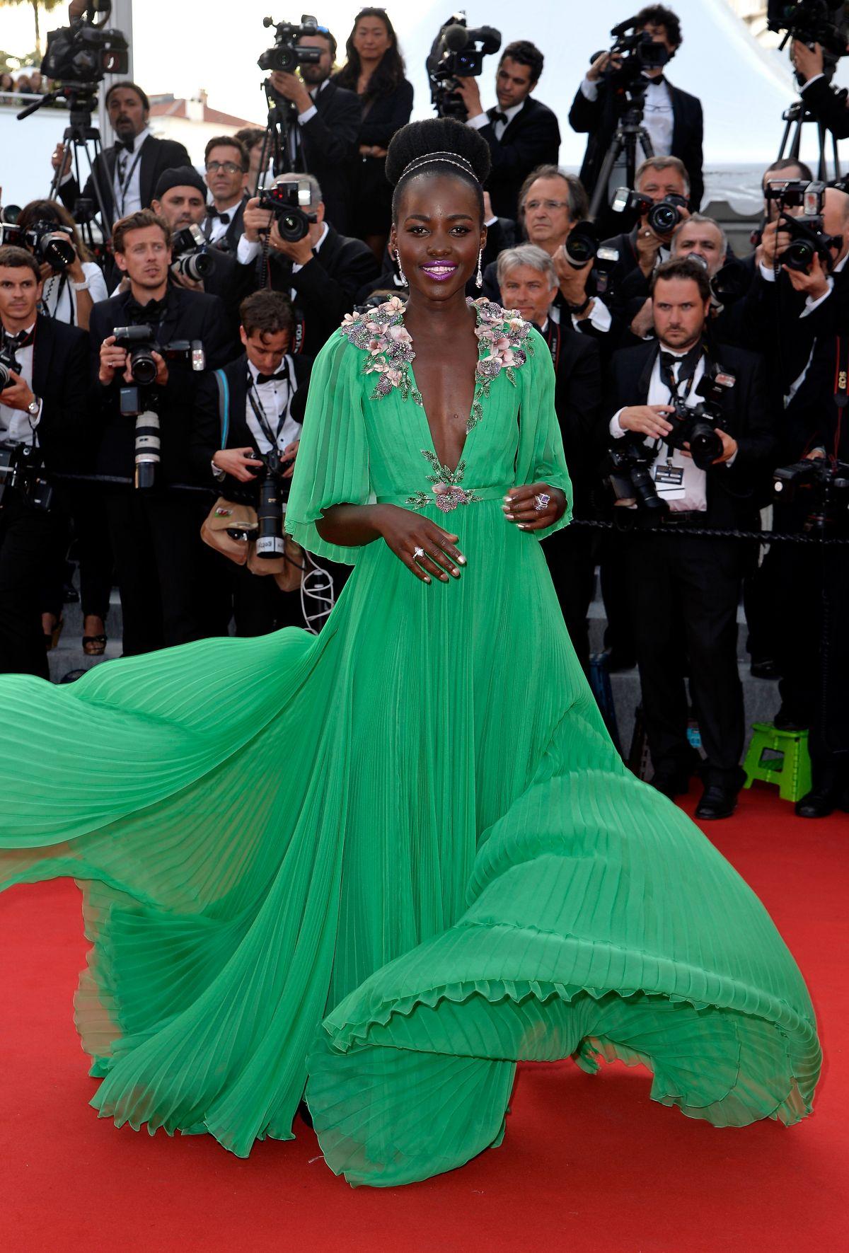 Lupita Nyongo At La Tete Haute Premiere At 2015 Cannes