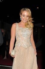 LYDIA BRIGHT at BAFTA 2015 Awards in London