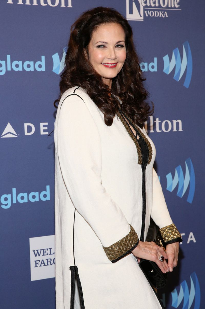 LYNDA CARTER at 26th Annual Glaad Media Awards in New York