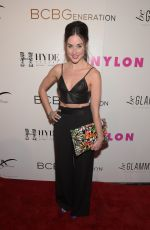 LYNDON SMITH at Nylon Young Hollywood Party in Hollywood