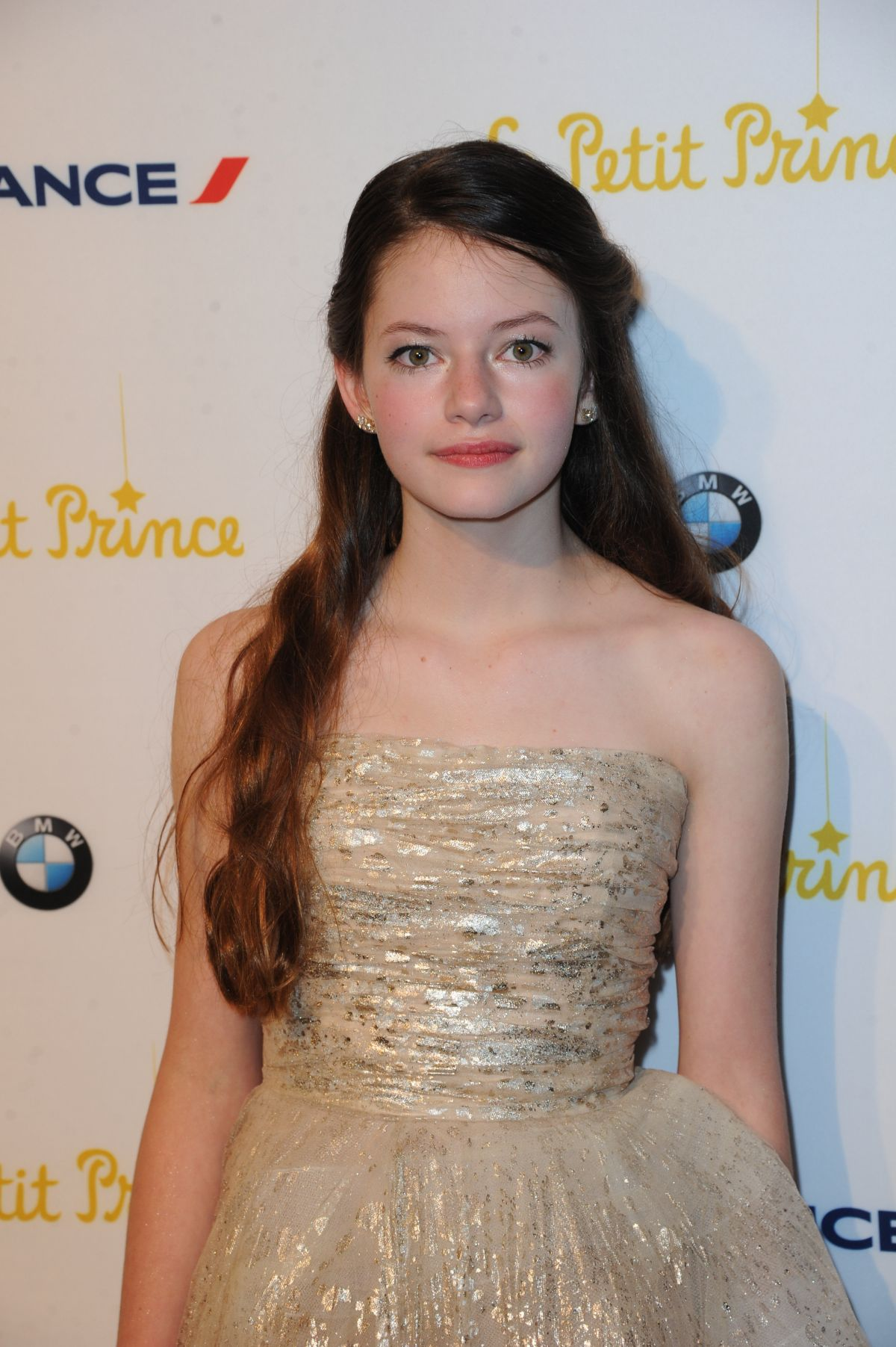 MACKENZIE FOY at The Little Prince Party in Cannes