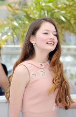 MACKENZIE FOY at The Little Prince Photocall in Cannes