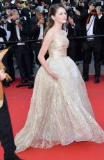 MACKENZIE FOY at The Little Prince Premiere at Cannes Film Festival