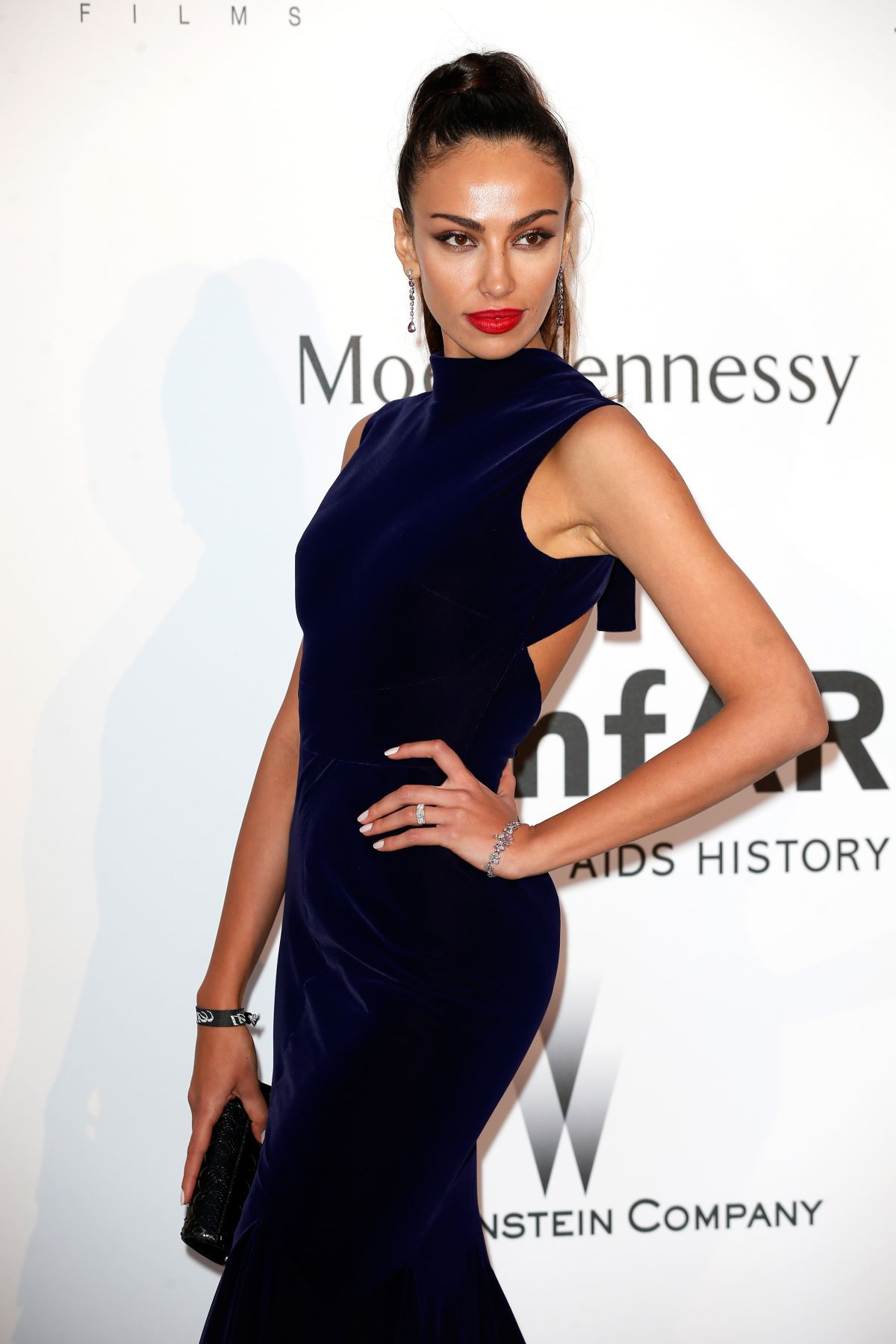 MADALINA GHENEA at Amfar's 2015 Cinema Against Aids Gala in Cap d'Antibes
