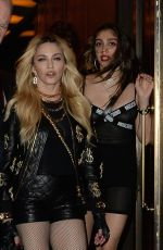 MADONNA and LOURDES LEON at MET Gala After Party in New York