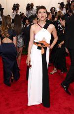 MAGGIE GYLLENHAAL at MET Gala 2015 in New York