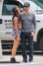 MAGGIE Q and Dylan McDermott Out in New York 05/05/2015