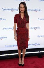 MAGGIE Q at 2015 Operation Smile Gala in New York