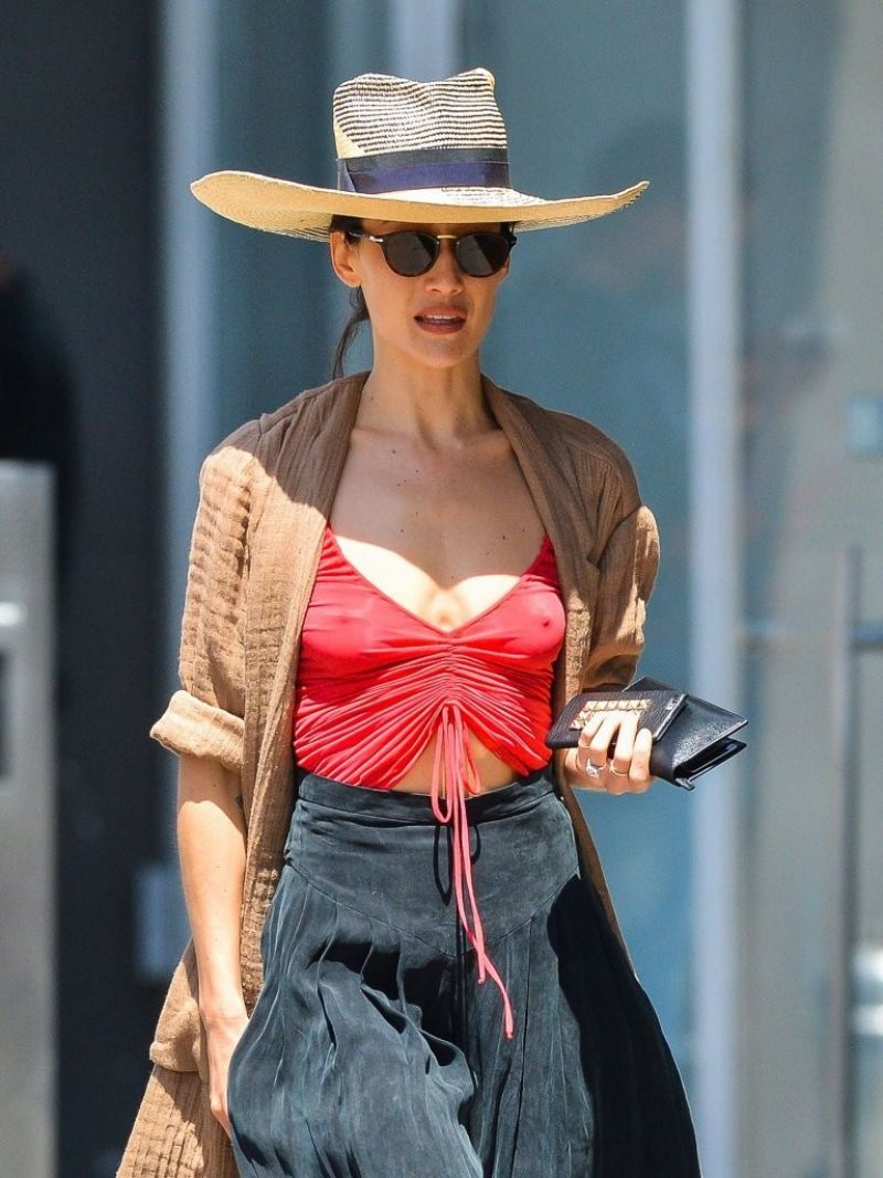 MAGGIE Q Out and About in New York