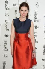 MAIMIE MCCOY at Set Fire to the Star Premiere in London