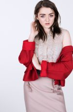 MAISIE WILLIAMS for Glamour Magazine by Naomi Yang