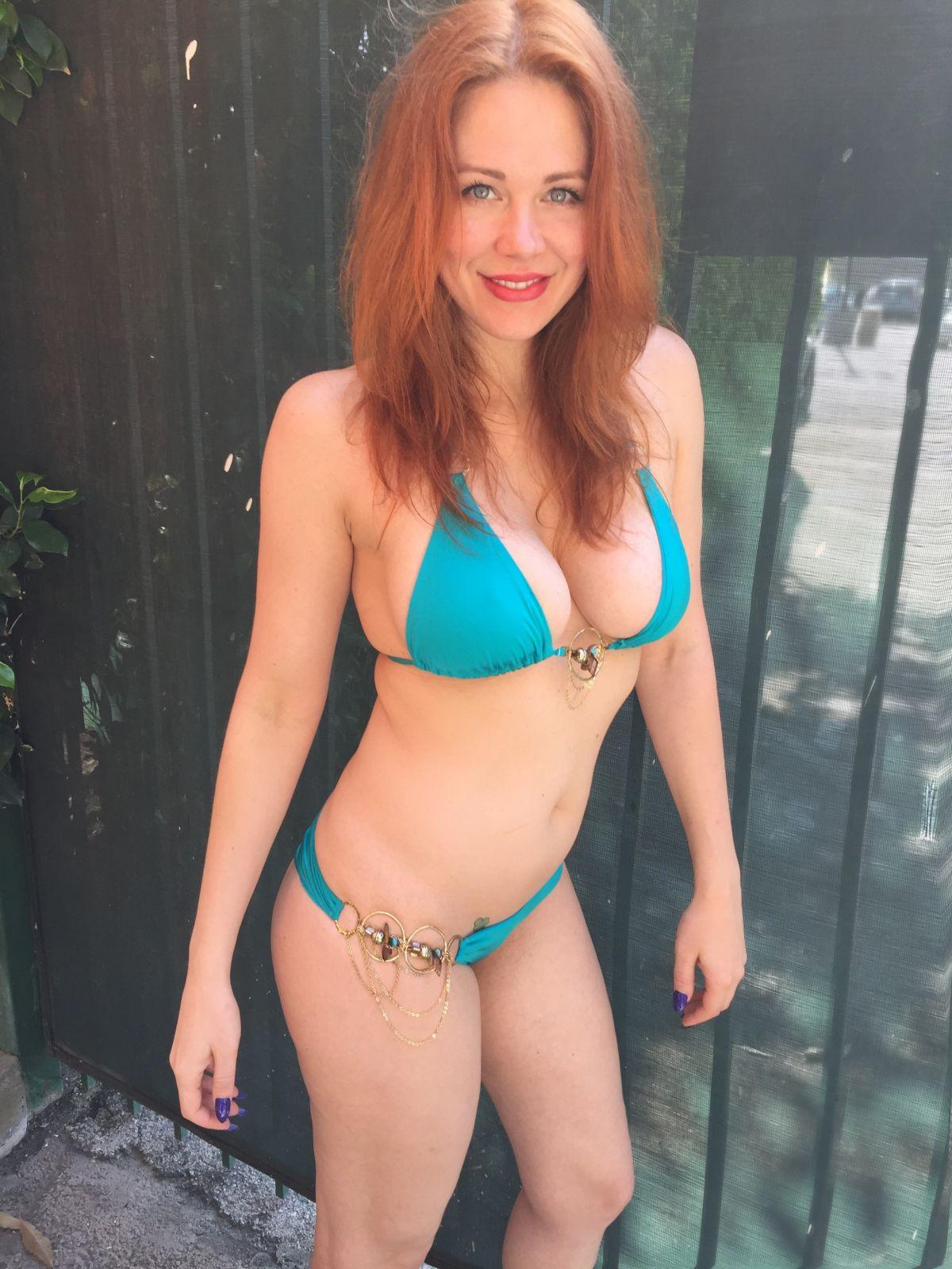 MAITLAND WARD in Bikini at a Beach in Santa Monica 05/30/2015