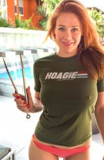 MAITLAND WARD on the Memorial Day Photoshoot in Los Angeles