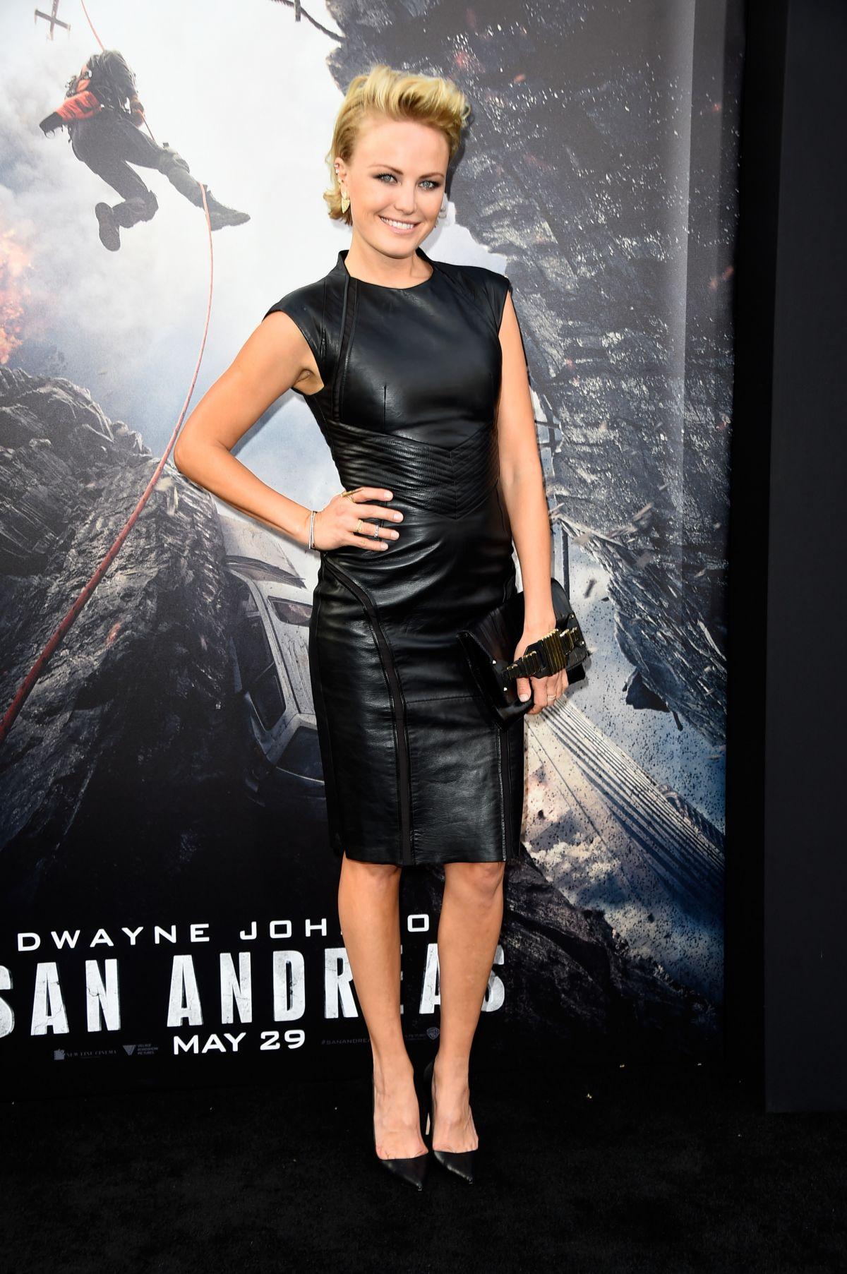 MALIN AKERMAN at San Andreas Premiere in Hollywood