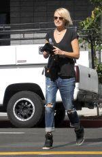 MALIN AKERMAN in Jeans Out in Glendale 05/19/2015