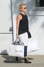 MALIN AKERMAN Out Shopping at Splendid in Beverly Hills 04/30/2015