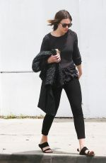 MANDY MORE Leaves a Hair Salon in Beverly Hills 05/26/2015