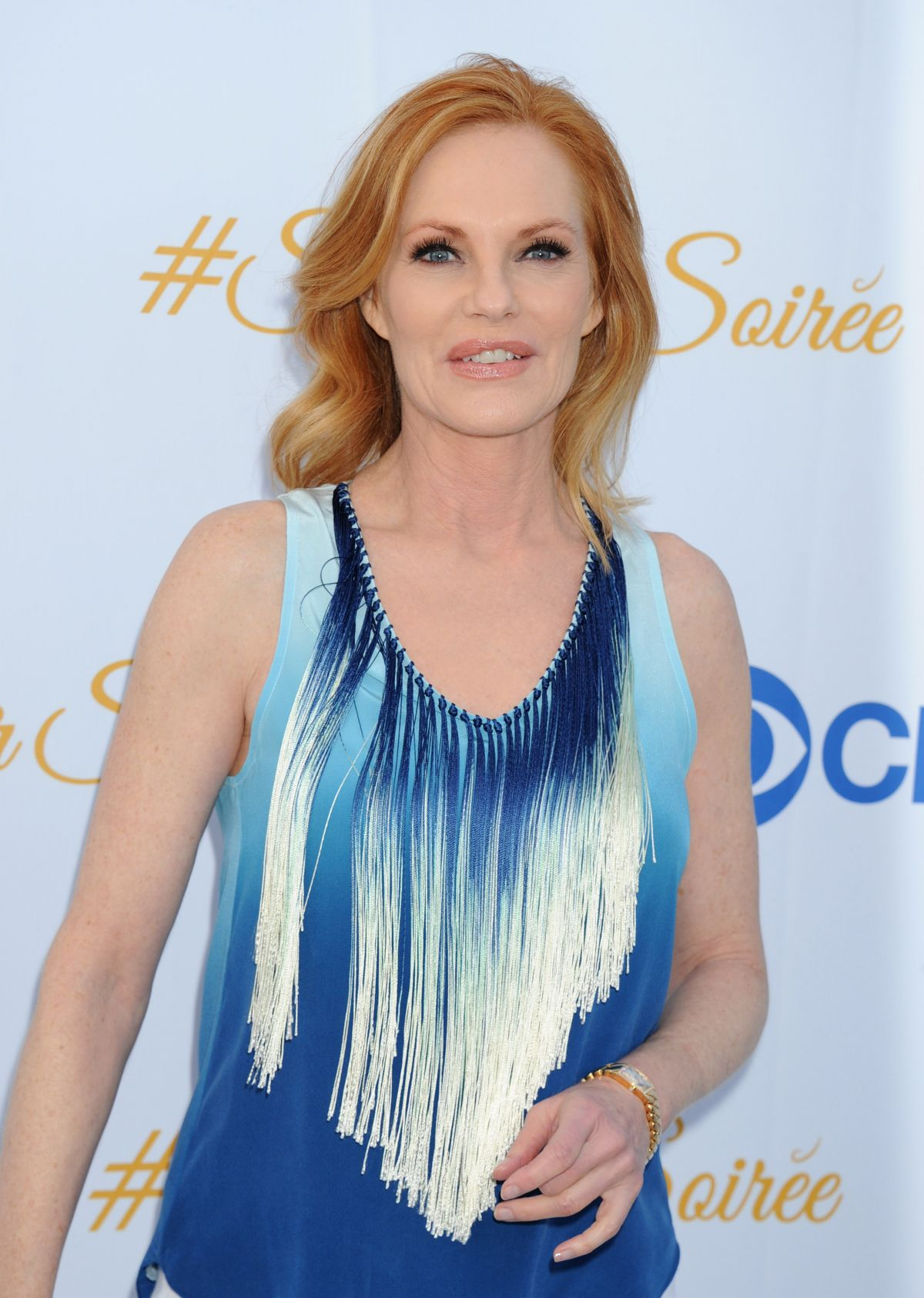 MARG HELGENBERGER at 2015 CBS Summer Soiree in West Hollywood - HawtCelebs