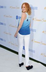 MARG HELGENBERGER at 2015 CBS Summer Soiree in West Hollywood