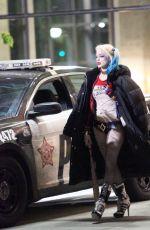 MARGOT ROBBIE at Suicide Squad Movie Set in Toronto 05/16/2015