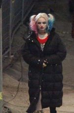 MARGOT ROBBIE on the Set of Suicide Squad in Toronto 05/06/2015