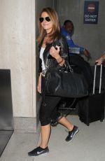MARIA MENOUNOS at Los Angeles International Airport 05/15/2015