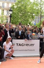 MARIA SHARAPOVA at Association Theodora Fund Event by Tag Heuer in Paris