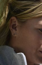 MARIA SHARAPOVA at French Open Media Day at Roland Garros in Paris