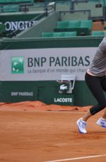 MARIA SHARAPOVA at French Open Practice Day at Roland Garros in Paris
