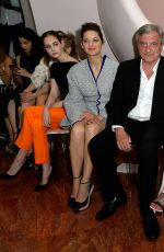 MARION COTILLARD at 2016 Dior Cruise Fashion Show in France