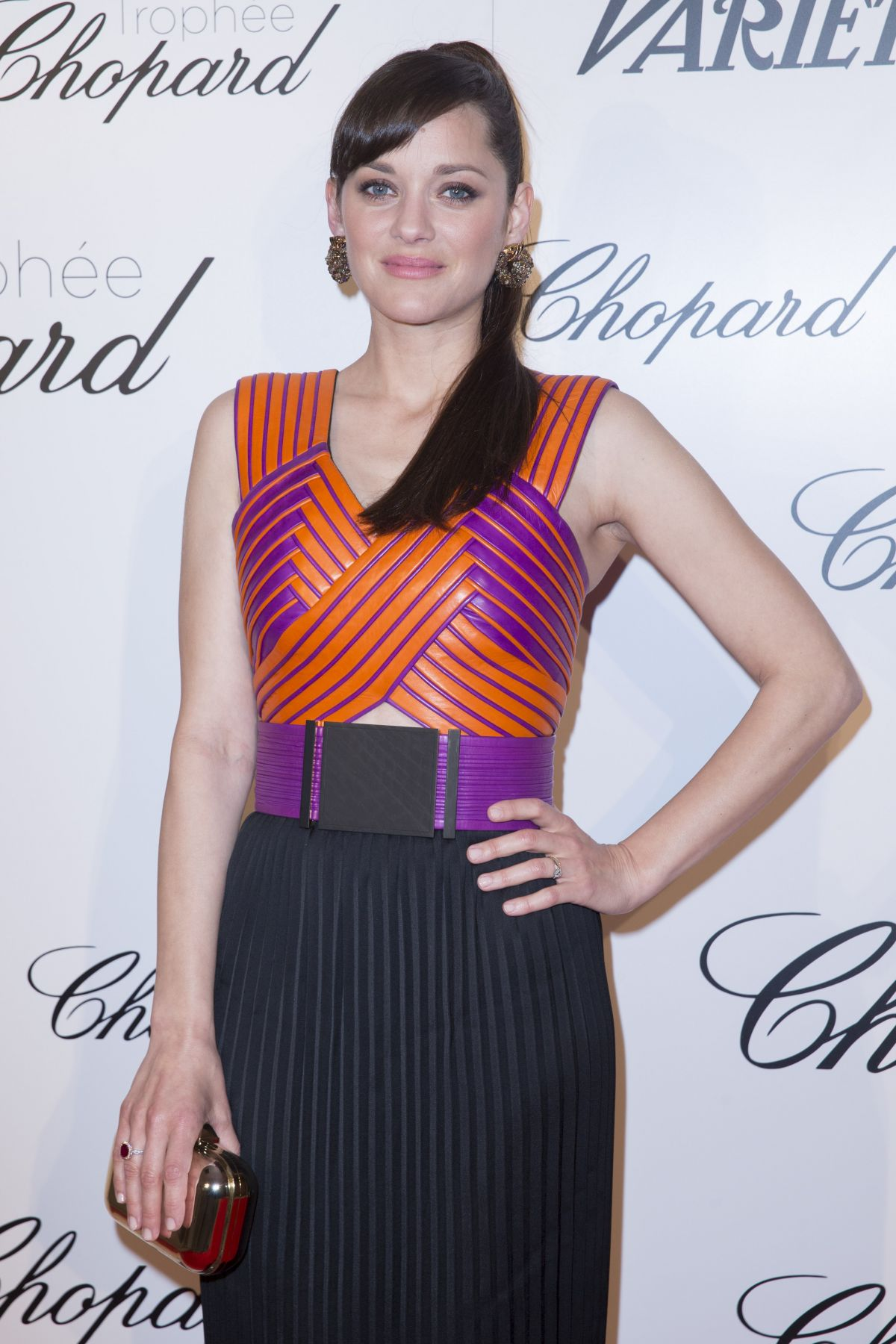 MARION COTILLARD at Chopard Trophy Party in Cannes