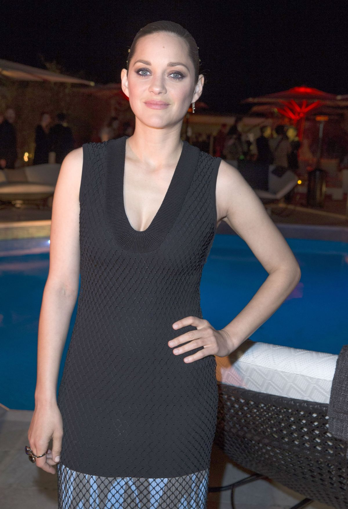 MARION COTILLARD at Dior Private Dinner in Cannes