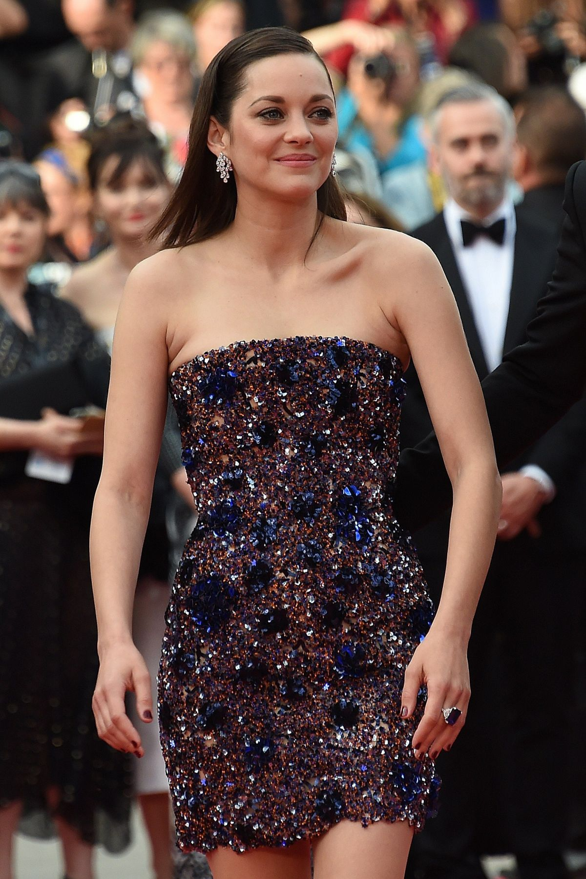 MARION COTILLARD at Macbeth Premiere at Cannes Film Festival