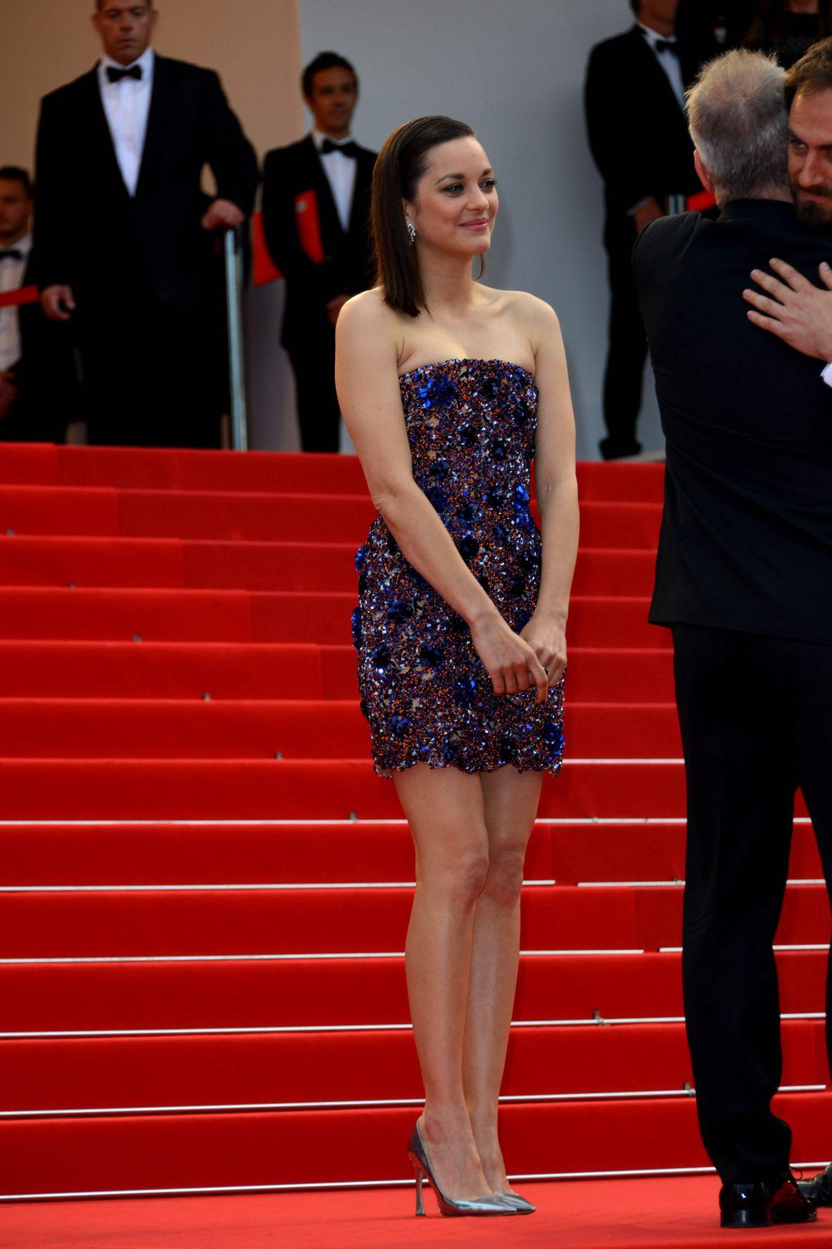 MARION COTILLARD at Macbeth Premiere at Cannes Film ...