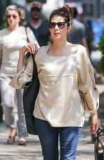 MARISA TOMEI Out and About in New York 05/19/2015