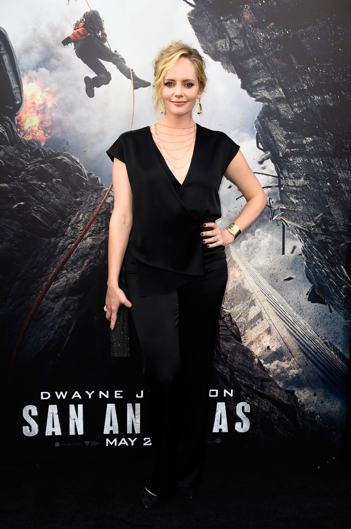 MARLEY SHELTON at San Andreas Premiere in Hollywood