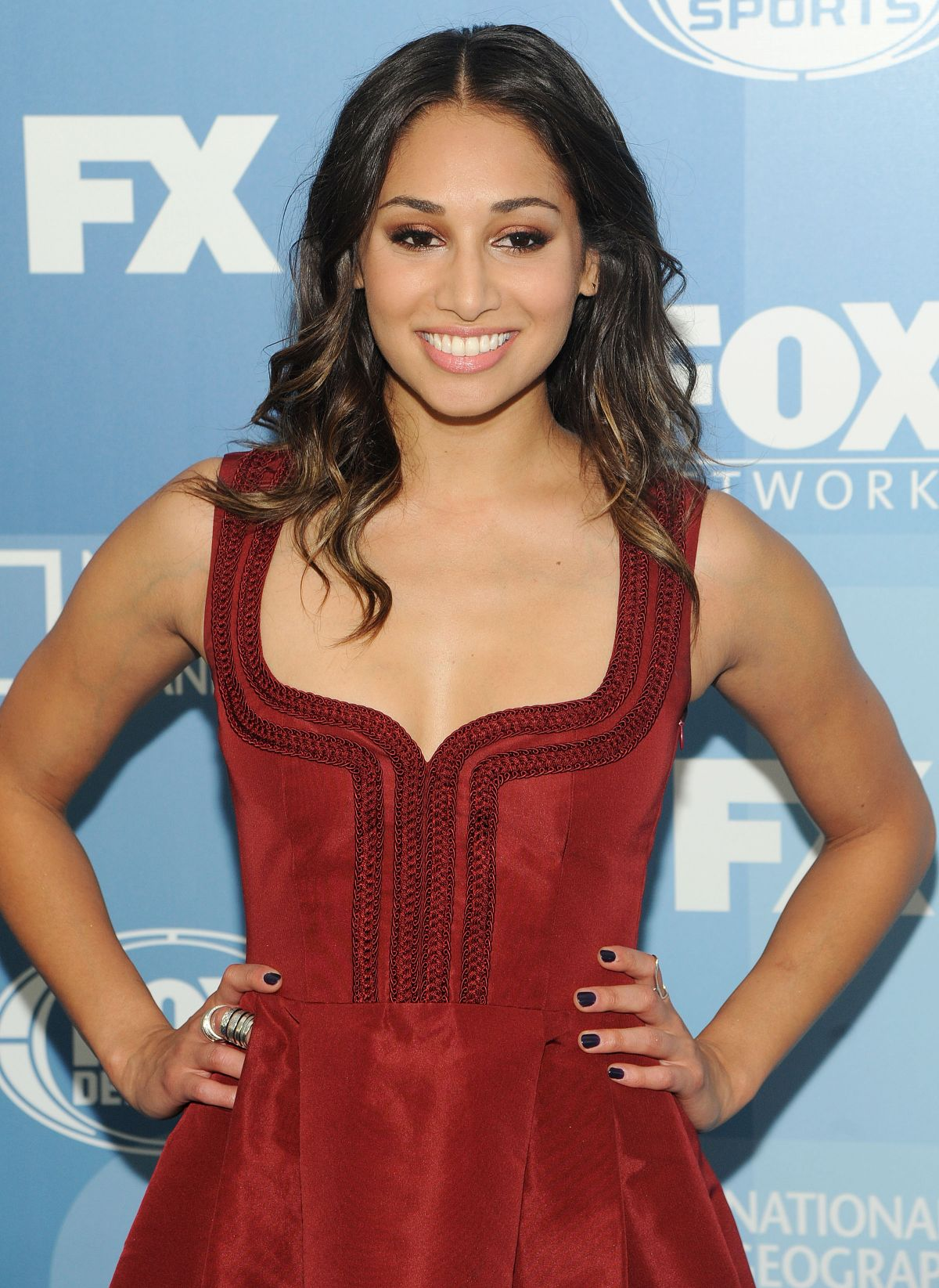 MEAGHAN RATH at Fox Network 2015 Programming Upfront in New York