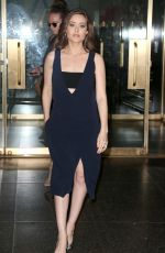MEGAN BOONE Arrives at Today Show in New York 05/13/2015