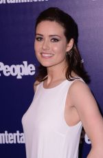 MEGAN BOONE at EW and People Celebrate the NY Upfronts in New York