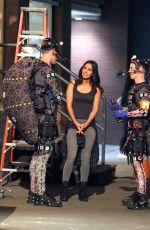 MEGAN FOX in Tight Tank Top on the Set of Teenage Mutant Ninja Turtles 2 05/05/2015
