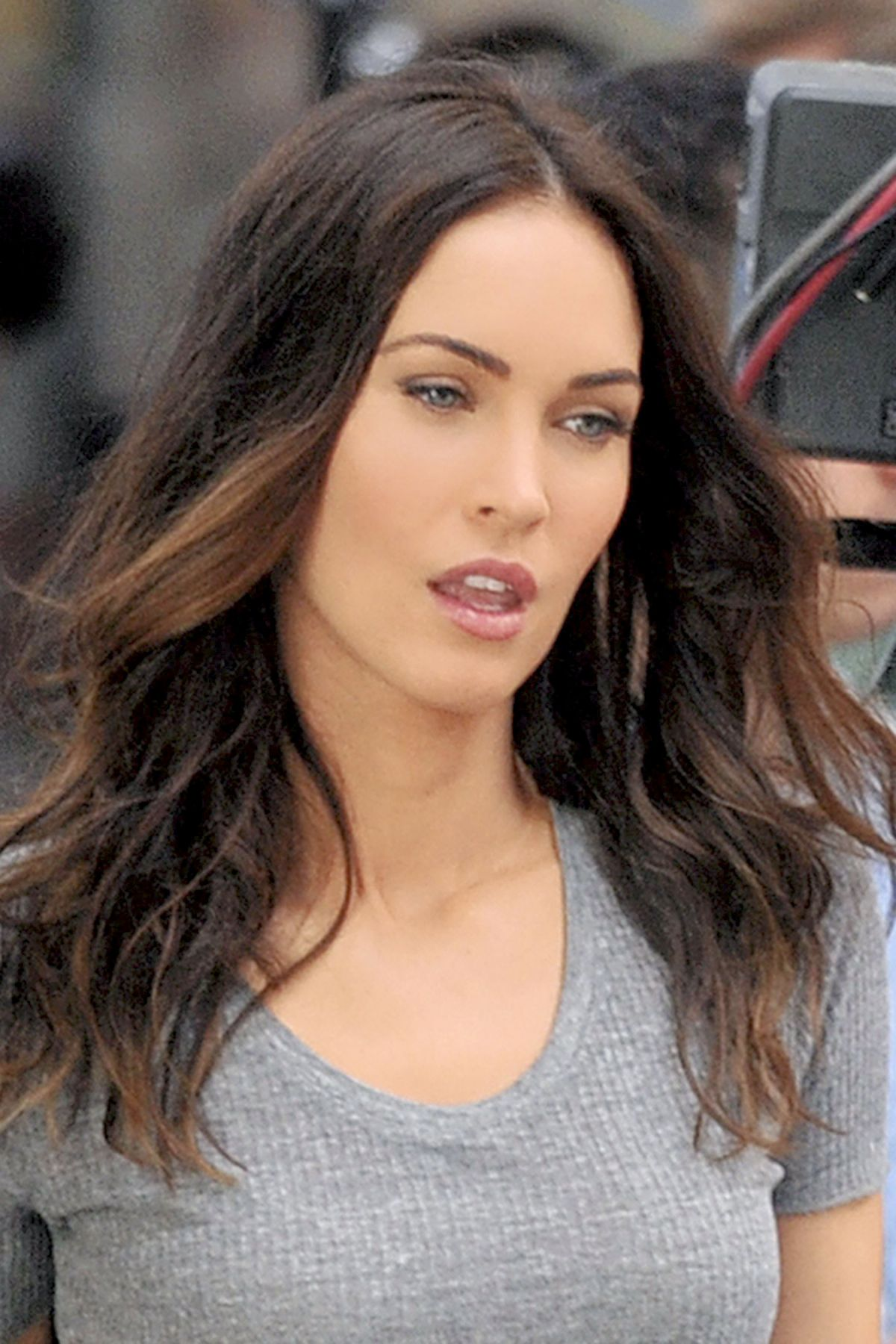 MEGAN FOX on the Set of Teenage Mutant Ninja Turtles 2 05/11/2015