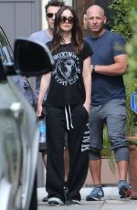 MEGAN FOX Out and About in West Hollywood 05/17/2015