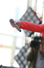 MEGHAN TRAINOR at Today Show Concert Series in New York