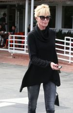 MELANIE GRIFFITH Leaves Fred Segal