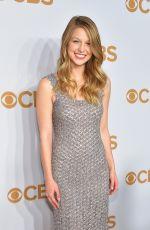 MELISSA BENOIST at 2015 CBS Upfront in New York