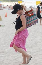 MELISSA JOAN HART in Swimsuit at a Beach in Miami 05/30/2015