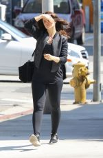 MENA SUVARI Out for Lunch in Beverly Hills 05/27/2015